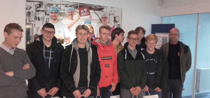 Studiebezoek 5TEM aan de firma Mulder in Roeselare-Beveren.