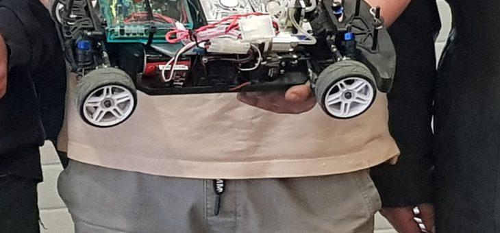 VTI Roeselare waterstof telegeleide wagen