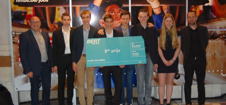 VTI wint brons op nationale BERT-wedstrijd NMBS