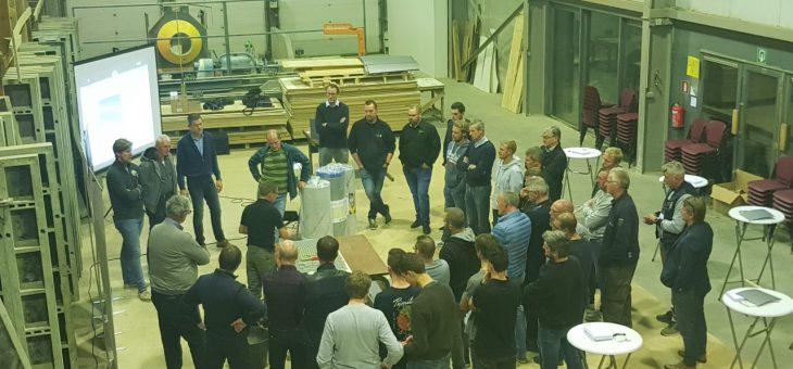 Opleiding firma Ardex en Guhjar, ontkoppelen tegelvloeren