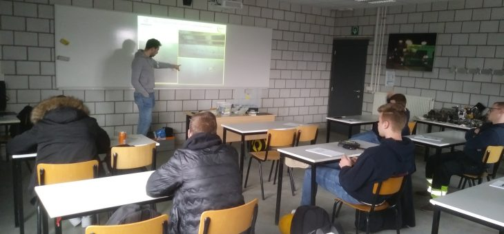 Opleidingen in de bouwafdeling