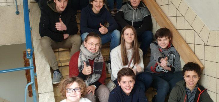 Leerlingenraad houdt nieuwjaarsreceptie