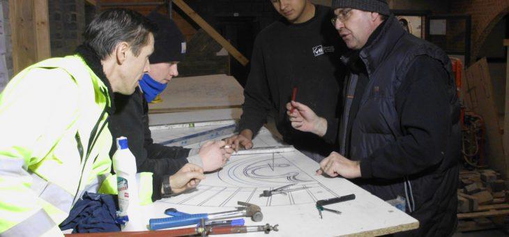 Opleiding natuursteen en siermetselwerk 7BSO Renovatie