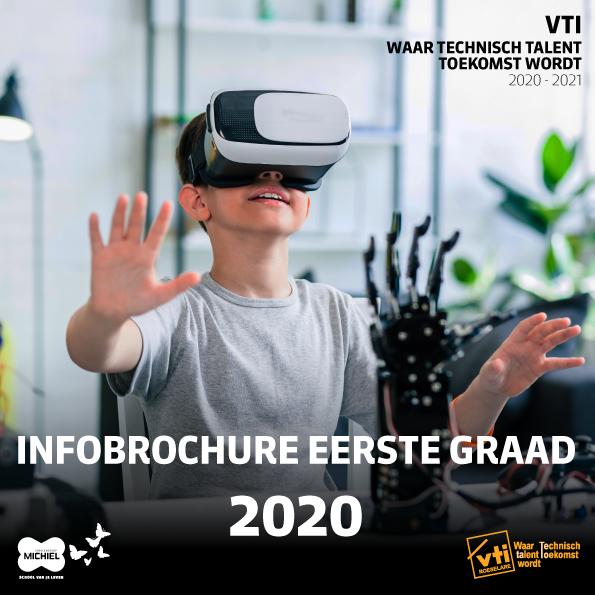 brochure eerste graad VTI Roeselare